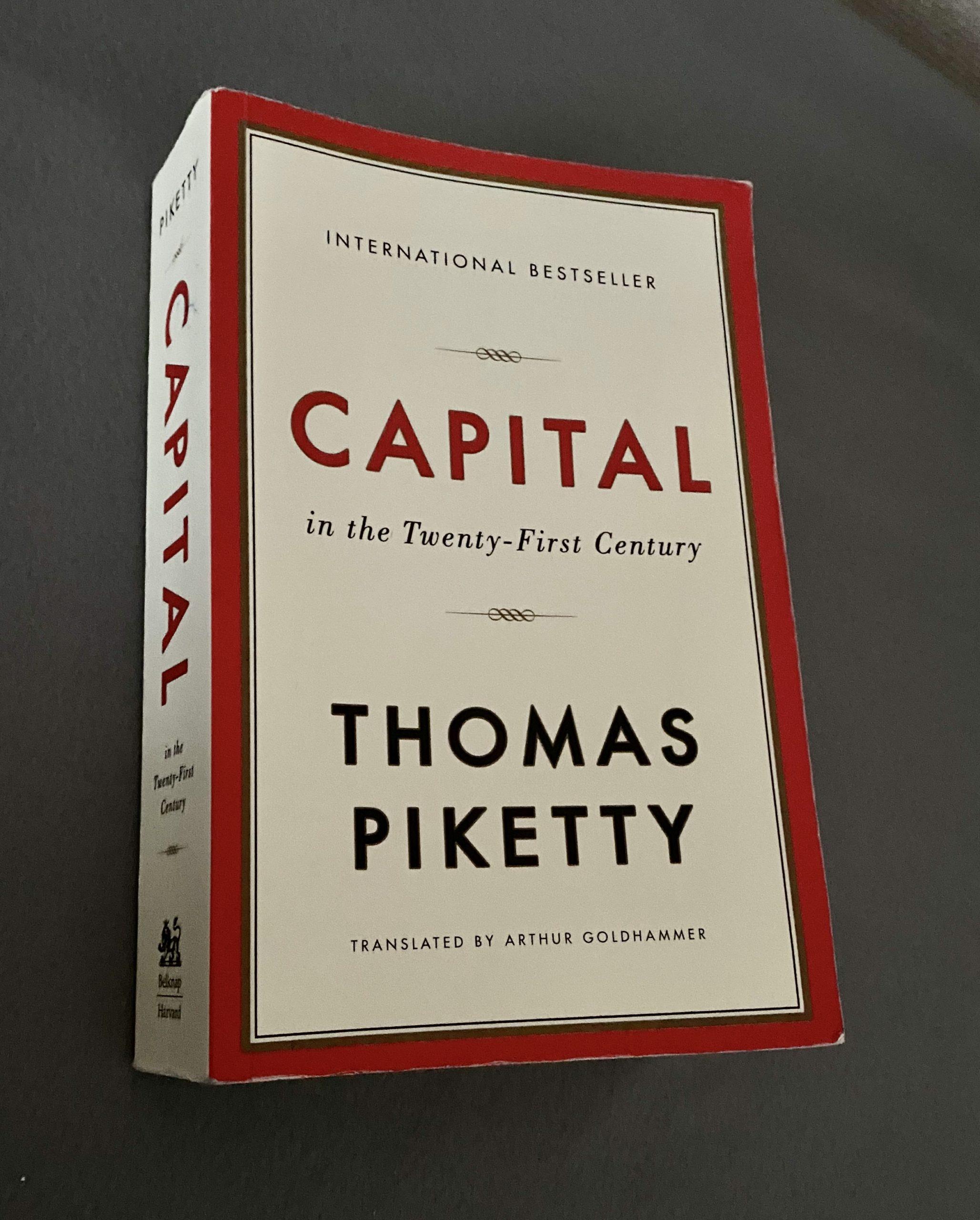 """推奨図書:""""Capital In the 21 Century"""",ピケティー"""